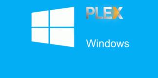 Install Plex Server on Windows