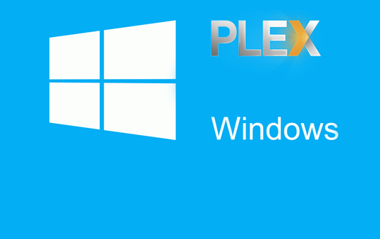 Install Plex Server on Windows